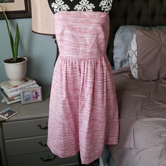 66eb356871 Banana Republic Dresses   Skirts - Banana Republic strapless linen dress  size 10